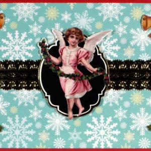 Decupage Victoriana Natale